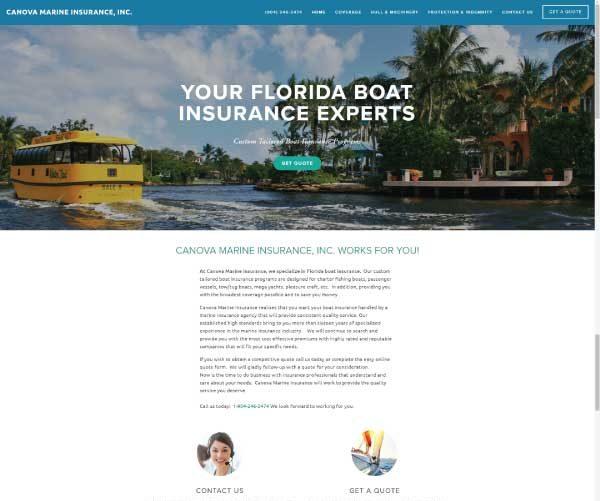 canova marine insurance