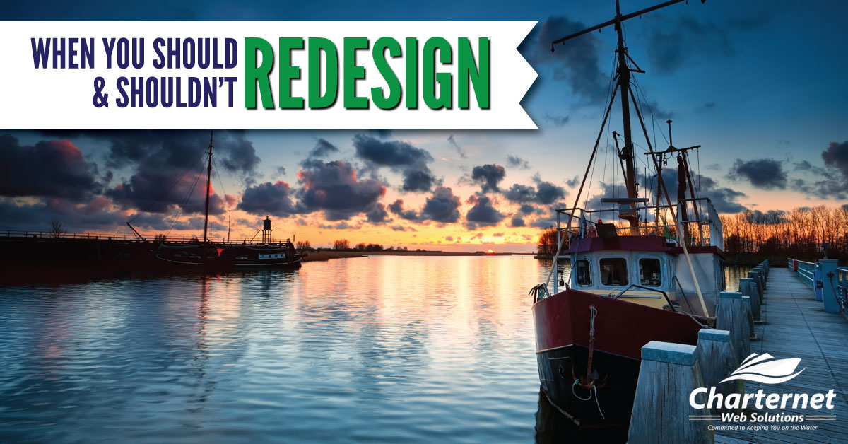 why to redesign your website