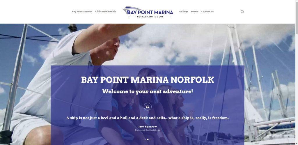Charternet Web Solutions | Bay Point Marina