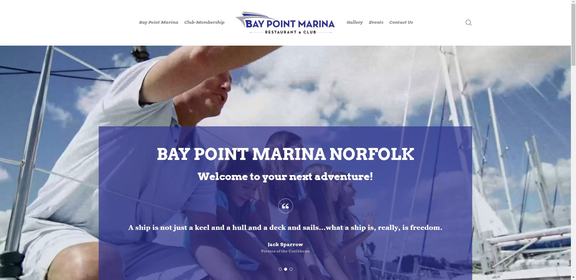 Charternet Web Solutions | Bay Point Marina